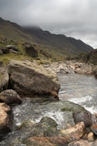 Mountain Stream. In Wales Stock Images
