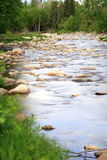 Mountain stream. In the mountains in Maine Stock Photography