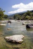 Mountain stream. A mountain stream in Borgo val di Taro, Italy Royalty Free Stock Photography
