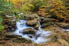 Mountain Stream Autumn in North Carolina Royalty Free Stock Photo