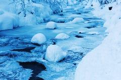 Mountain stream Bayehon in the High Vens Stock Photography