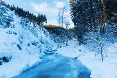 Mountain stream Bayehon in the High Vens Royalty Free Stock Photos