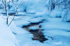 Mountain stream Bayehon in the High Vens Stock Photo