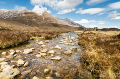 Mountain stream from Beinn Eighe Royalty Free Stock Photography