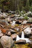Mountain stream in California Stock Photo