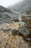 Mountain stream in canyon Stock Photos