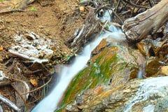 Mountain stream detail Royalty Free Stock Photos