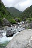 Mountain stream, Everest Stock Photo