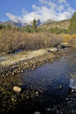 Mountain Stream in Fall. A scenic landscape in the colorado rocky mountain in fall Stock Photography