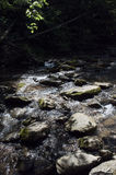 Mountain stream. An image of water and rocks in a mountain stream Stock Photography