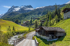 Free Mountain Stream In The Rear Ahrntal Royalty Free Stock Image - 72675736
