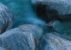 Mountain stream, long exposure Royalty Free Stock Image