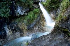Mountain stream long exposure Stock Photos