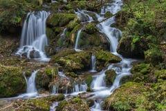 Mountain stream. At Mixnitz in Styria, Austria Royalty Free Stock Photos
