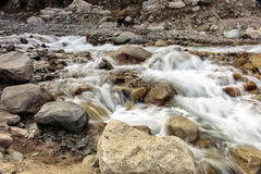 Mountain stream. Royalty Free Stock Images