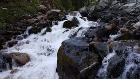 Mountain stream. Mountain stream in the mountains in the spring Stock Photography