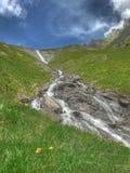 Mountain stream ovronnaz Switzerland Royalty Free Stock Photo
