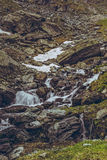 Mountain stream rapids Royalty Free Stock Photography