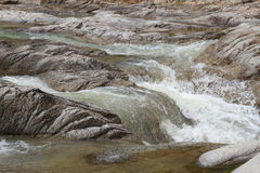 Mountain stream river with the stones Royalty Free Stock Photography