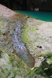 Mountain stream. Mountain stream in the rocks Stock Photography