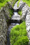 Mountain stream running through Royalty Free Stock Image