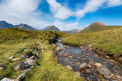 A Mountain Stream on Skye Royalty Free Stock Image