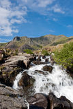 Mountain Stream, Snowdonia, Wales Stock Photography