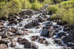 Mountain stream in South Tyrol Royalty Free Stock Image