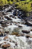 Mountain stream in South Tyrol Royalty Free Stock Photos