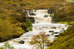 Mountain Stream in spate Stock Photography