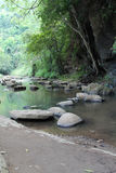 Mountain stream. Stone and clear water from mountain stream Stock Image