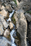 Mountain stream in the Tien Shan Stock Photography