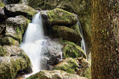 Mountain Stream Waterfall Stock Photo