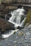 Mountain stream waterfall, long exposure Royalty Free Stock Image