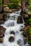 Mountain stream waterfall Royalty Free Stock Images