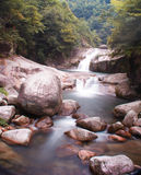 Mountain Stream in Wuyuan, China Royalty Free Stock Photo