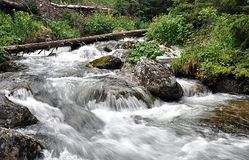 Mountain streams, Slovakia, Europe Royalty Free Stock Images