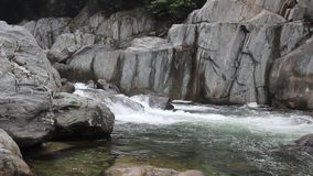 Mountain streams stock video