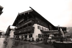 Ellmai, Tirol, Austrian resort royalty free stock images
