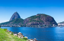 The mountain Sugar Loaf in Rio de Janeiro Royalty Free Stock Photography