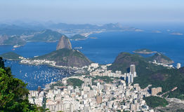 The mountain Sugar Loaf in Rio de Janeiro Stock Photo