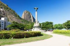 The mountain Sugar Loaf and Urca in Rio de Janeiro Stock Image
