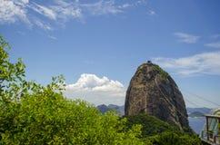 Mountain Sugarloaf, Rio de Janeiro Stock Photos