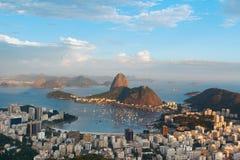 Mountain Sugarloaf , Rio de Janeiro, Brazil Stock Images
