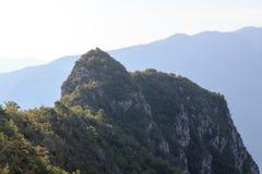Mountain summit Cima Capi panorama near Riva del Garda, Italy Stock Photography