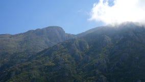 Mountain sun day in Montenegro stock footage