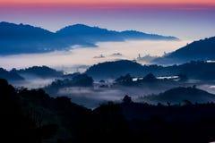 Mountain Sunrise royalty free stock photos