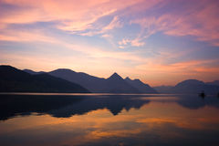 Mountain Sunrise stock image