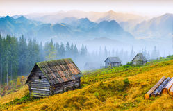 Mountain sunrise_1 Royalty Free Stock Photos