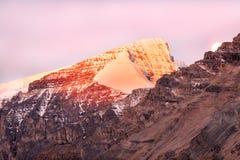 Mountain sunrise Stock Photo